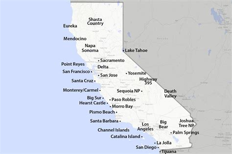 maps  california created  visitors  travelers