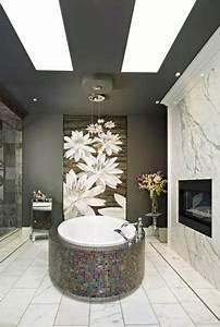 Dark, Ceiling, Designs, In, Modern, Kitchens, And, Bathroom, Interiors