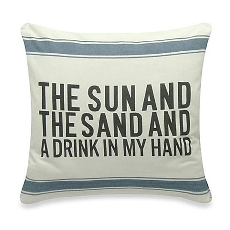bed bath and beyond sofa pillows the sun and the sand square throw pillow bed bath beyond