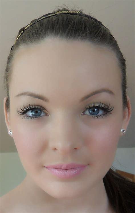 kayla doll makeup fotd lashes  liner