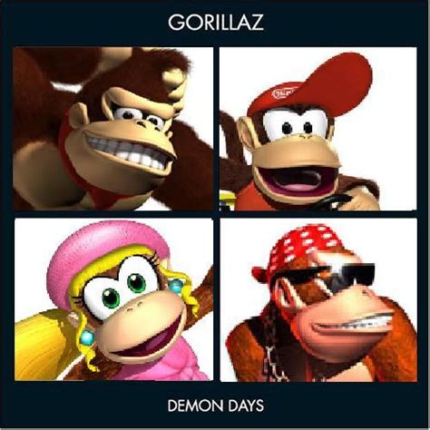 Gorillaz Memes - gorillaz quot demon days quot cover parodies know your meme