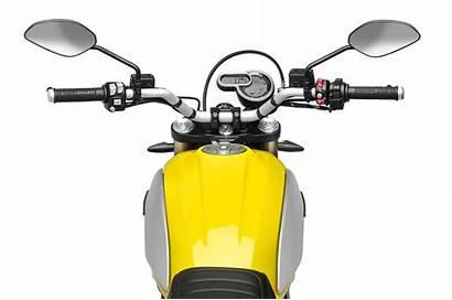 Scrambler Ducati 1100 Cockpit Special Press Shot