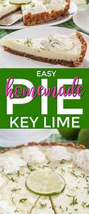 Easy Key Lime Pie Recipe That Is No Bake and BIG on Flavor!