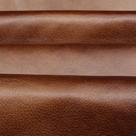 Pleather Upholstery Fabric by Distressed Antique Aged Brown Retardant Faux Leather
