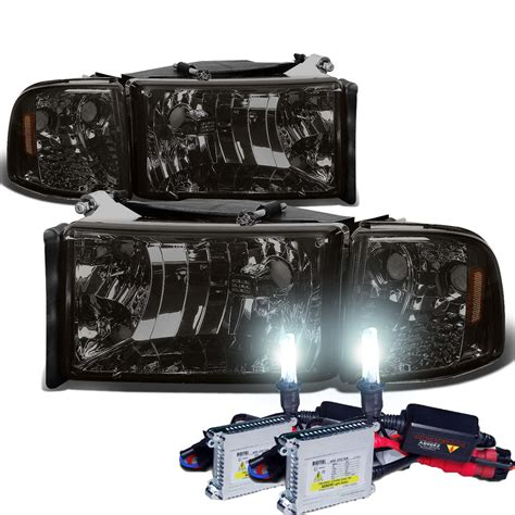 HID Xenon   94 01 Dodge RAM 1500 2500 3500 OEM Style