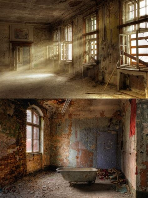 abandoned  dilapidated indoor highdefinition pictures