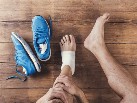 exercise   ankle  foot injury