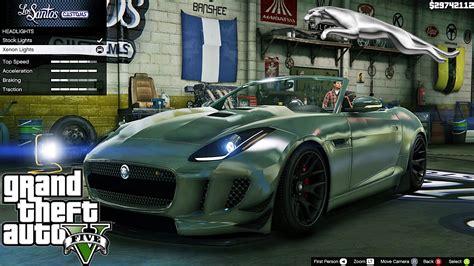 Jaguar F Type 2014 Gta V Car Mod Tuning !! [ Soley911 ]