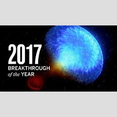 The Biggest Scientific Breakthroughs Of The Year, Now In Video Form!  Science Aaas