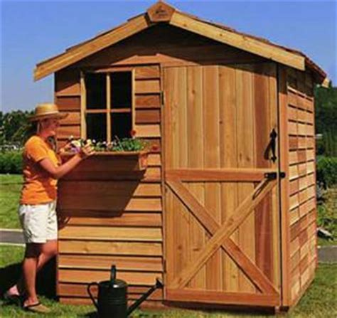 cute gardening shed kits tiny landscaping storage sheds cedarshed canada