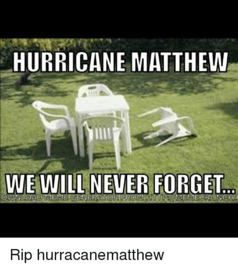 Funny Hurricane Memes - matthew memes purpleslobinrecovery