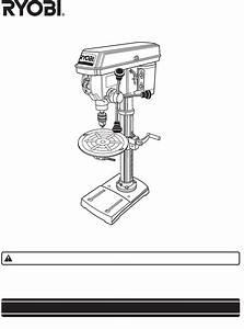 Ryobi Drill Dp120 User Guide