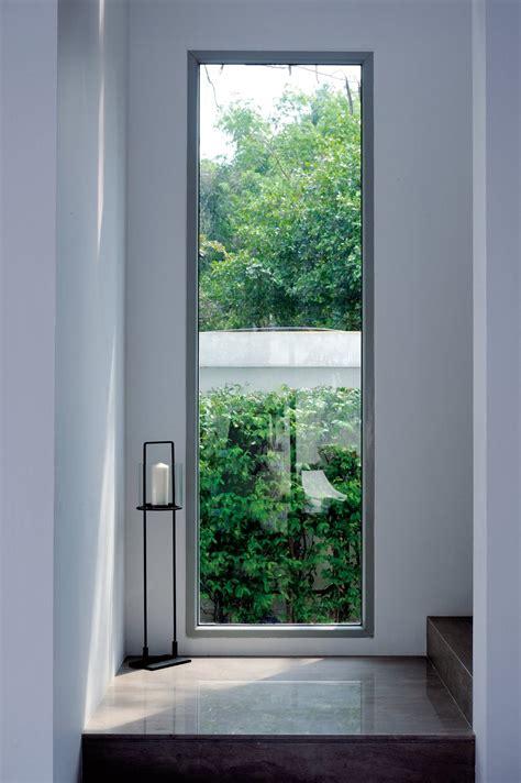 large window staircase baan citta  bangkok thailand