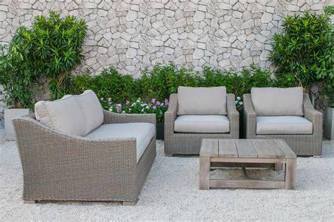 grey wicker sofa venice 4 grey black wicker outdoor