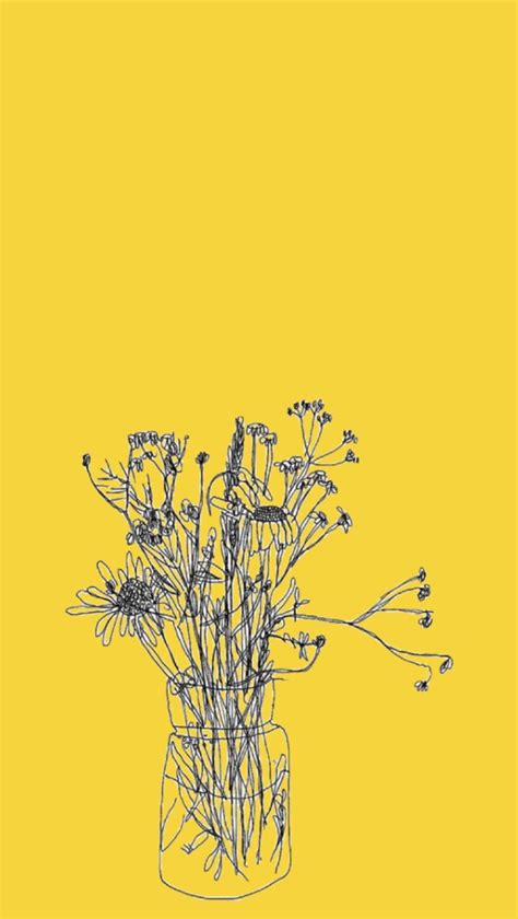 Aesthetic Yellow Flowers Wallpaper Iphone by Yellow Aesthetic Dust Yellow Overlays