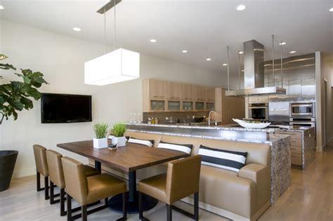 deerfield residence  contemporary kitchen chicago  handman associates