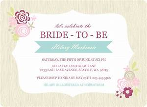 Bridal shower invitations etiquette template best for Wedding shower invitation templates free