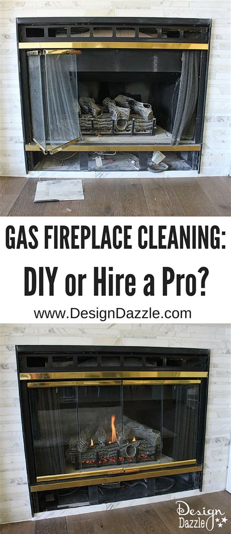 propane fireplace cleaning gas fireplace cleaning diy or hire a professional