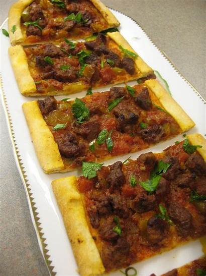 Pide Turkish Beef Kendi Cuisine Cubes Saati