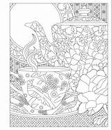 Coloring Tea Elegant Adult Princess Invited Enjoy Printable Laurie Relax Issuu Adults Colouring Colorful Sheets Doodle Drawings Printables Visit Salvo sketch template