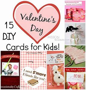 15 DIY Valentine Day Cards for Kids - Mission: to Save