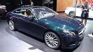 Mercedes E 300 : 2018 mercedes benz e 300 coup exterior and interior geneva motor show 2017 youtube ~ Medecine-chirurgie-esthetiques.com Avis de Voitures