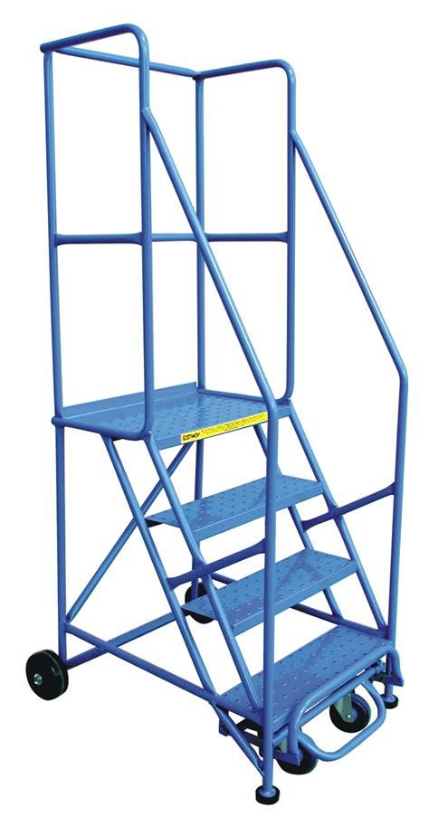 Redirack  Rolling Ladders  Rolling Platforms, Rolling Steps