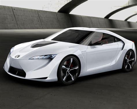 super sport cars 2012 futuristic toyota ft hs hybrid