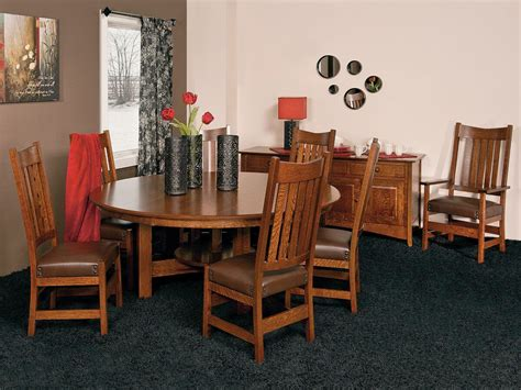 Santiago Mission Style Dining Chairs Countryside Amish