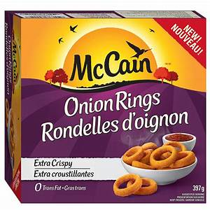 McCain Onion Rings reviews in Frozen Appetizers - ChickAdvisor