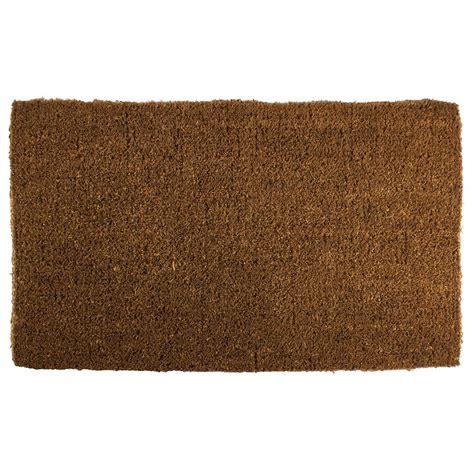 Coir Doormat by Coir Door Mat Blank Thick Woven Plain Home