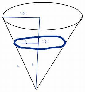 Höhe Eines Kegels Berechnen : berechnen sie um wie viel prozent die oberfl che des kegels zunimmt mathelounge ~ Themetempest.com Abrechnung