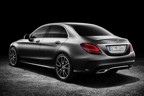 New Mercedes Cclass 2018 Facelifted Amg C43 Coupe And
