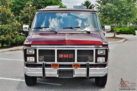 Just 20,377 Miles On This 1988 Gmc Vandura Conversion Van