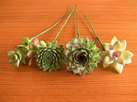 decor 16 wired succulents for diy bouquet 2410850