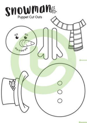 paper bag christmas puppet making activity teaching