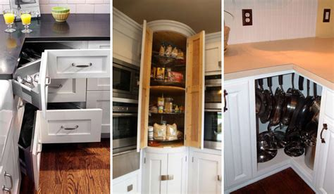 small corner cabinet for kitchen fabulous hacks to utilize the space of corner kitchen 8003