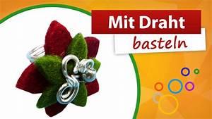 Basteln Mit Draht : mit draht basteln schmuckring basteln aus aludraht ~ Lizthompson.info Haus und Dekorationen