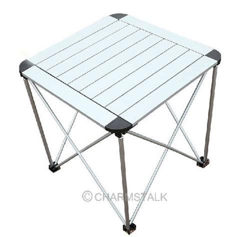 roll up aluminium table portable outdoor garden roll up folding cing picnic