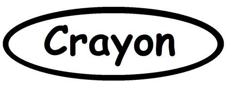 Crayon Template Crayon Template Crazycookup