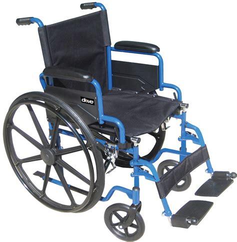 chaise handicap blue streak wheelchair with flip back desk arms drive