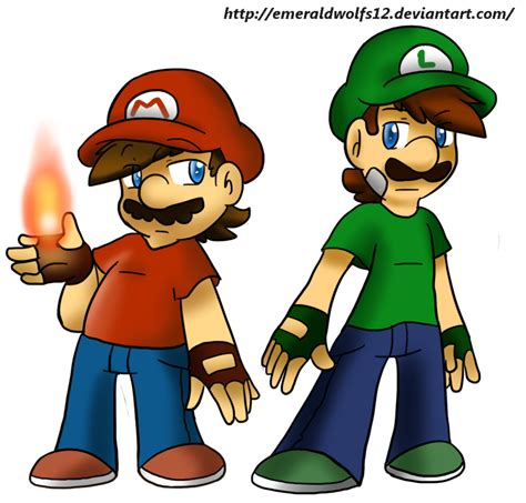 mario and luigi by mariobrosyaoifan12 on deviantart