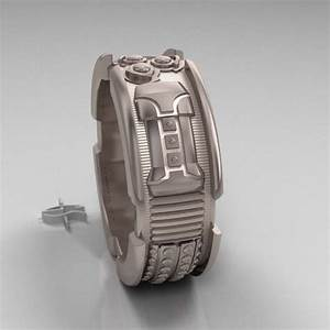 Star wars lightsaber ring mens engagement by for Star wars mens wedding ring