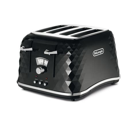 Delonghi 4 Slice Toaster by Buy Delonghi Brillante Ctj4003 Bk 4 Slice Toaster Black