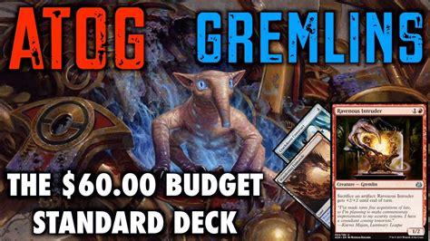 standard mtg decks budget mtg atog gremlins the 60 budget standard deck for