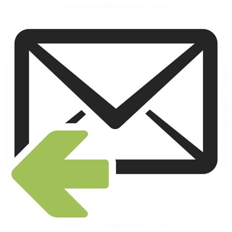 envelope sizes mail reply icon iconexperience professional icons o