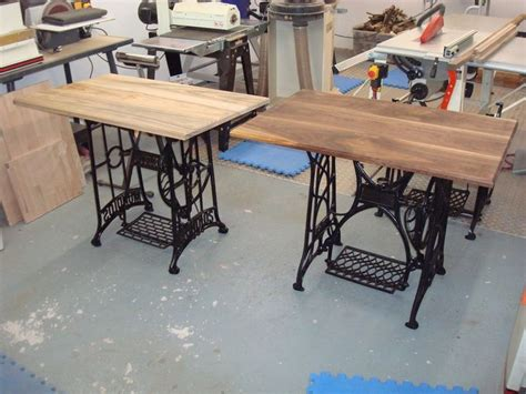 sewing machine desk ideas old sewing machine ideas bought a few old treadle sewing