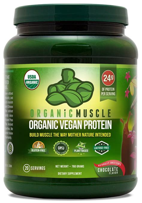 Amazon.com: Organic Vegan Protein Powder - Great Tasting