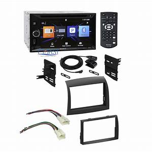 Sony Car Radio Double Din Dash Kit Wire Harness For 2004