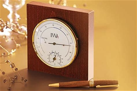 Wine Cellar Thermometer & Hygrometer  Iwa Wine Accessories